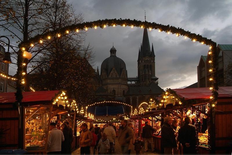 Weihnachtsmarkt in Aachen
