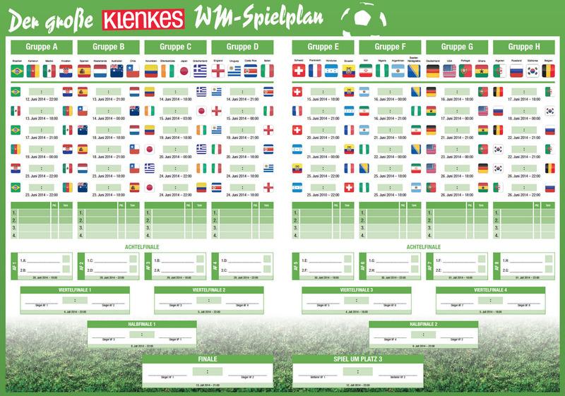 Fußball Em Spielplan Zum Ausdrucken